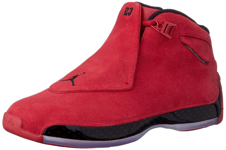 in stock cheaper new york Amazon.com | AIR Jordan 18 Retro 'RED Suede' - AA2494-601 ...