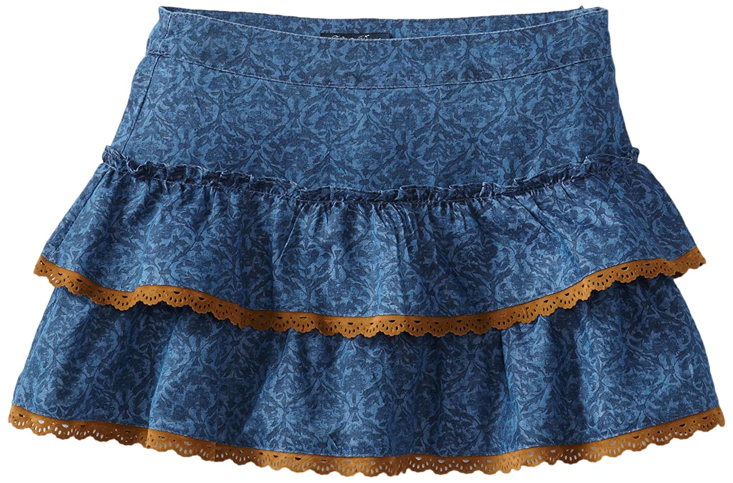 lucky brand big saloon denim skirt b00cpkjgwg