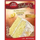 General Mills Betty Crocker Cake Mix, Lemon, 15.25 oz