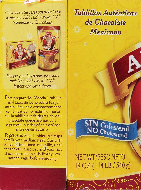 Amazon.com : Abuelita Mexican Chocolate Tablets, 19 oz : Hot Cocoa ...