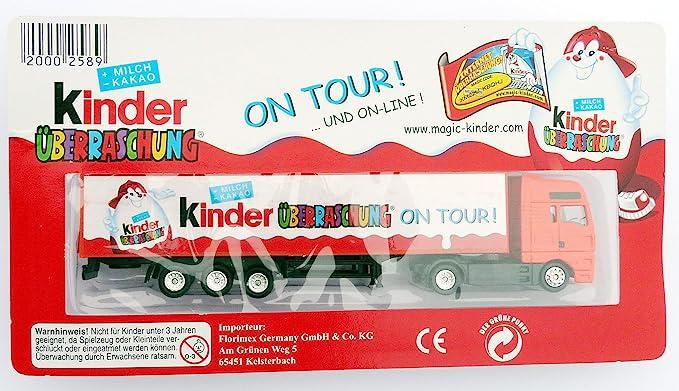 Niños sorpresa: en alemán sorpresa de EI Truck – Camiones en ...