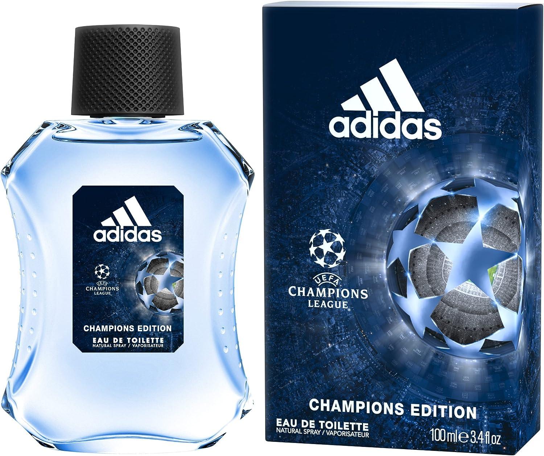 Adidas Uefa Champions Edition Eau de Toilette para Hombre - 100 ml.