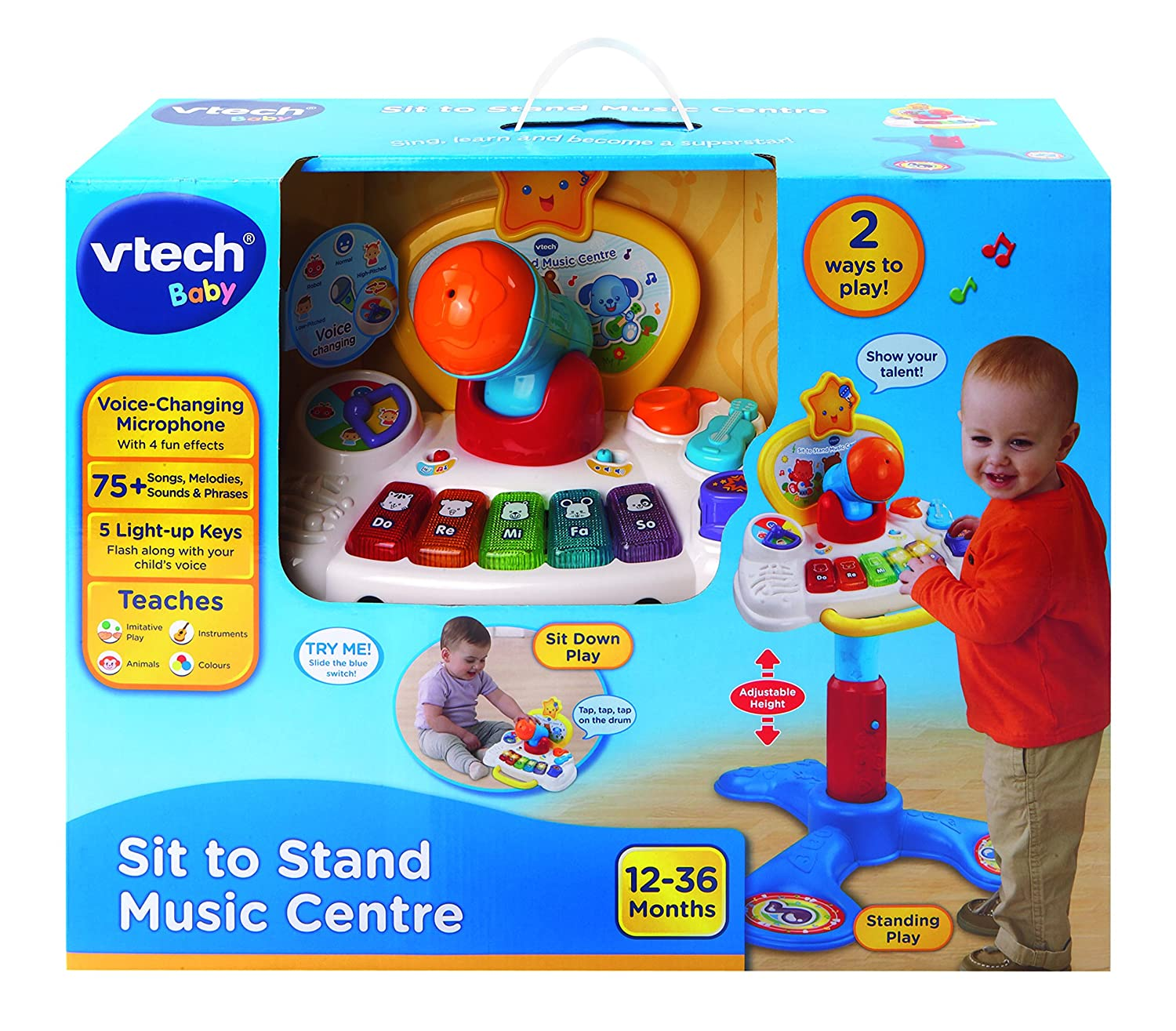 VTech Baby Sit to Stand Music Centre Amazon Toys & Games