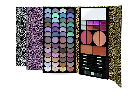 Estuche Sombras, Colorete y Pintalabios IDC Color Magic Mega Wall