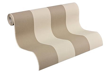 A.S. Création papel pintado de tejido-no-tejido Elegance beige marrón 10,05
