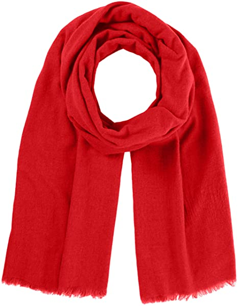 Marc OPolo 700825502495-Bufanda Mujer Rojo (glaring red 319 ...