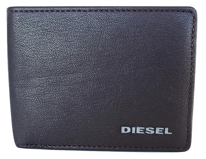 a6ec95990 Diesel Hombre X04463PR013 Billetera - Marrón - Talla única: Amazon.es: Ropa  y accesorios