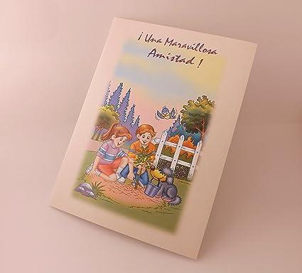 Amazon.com : Una maravillosa Amistad! --- tarjeta ...