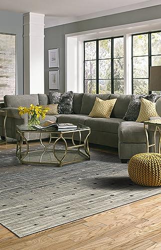 Karastan Studio Serenade Allegro Area Rug, 5 3 x 7 10, Gray