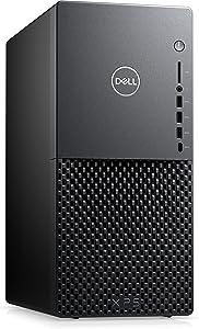 Newest Dell XPS 8940 Premium Desktop PC, 10th Gen i7-10700, GeForce GTX 1650 Super, 32GB DDR4 RAM, 1TB PCIe SSD + 1TB HDD, WiFi, Bluetooth, HDMI, DP, USB-A/C, Wired Keyboard & Mouse, Win 10 Pro