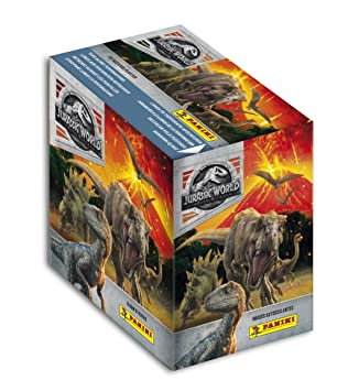Panini Francia Sa – Jurassic World Movie 2 – Caja DE 50 Sobres Adhesivos, 2410