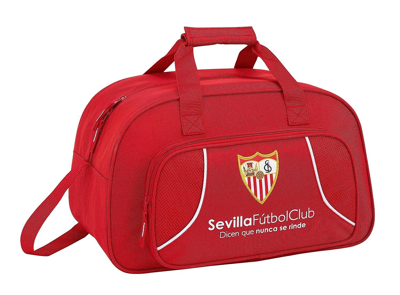 F.C; sevilla 711856273 2018 Bolsa de Deporte Infantil 40 cm Rojo