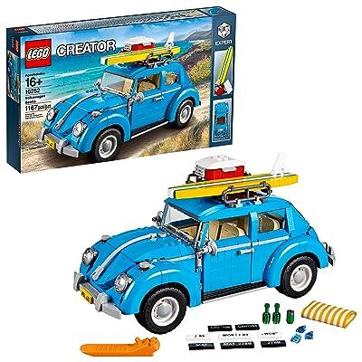 LEGO Creator Expert Volkswagen Beetle 10252 Construction Set (1167 Pieces): Toys & Games