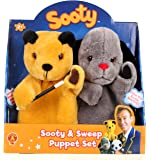 Golden Bear The Sooty Show Sooty and Sweep Puppet Set