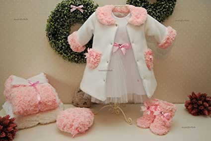 Mantel baby rosa
