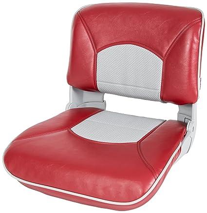Amazon.com: tempress Perfil Gris Cojín de asiento con rojo ...