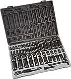 "Grey Pneumatic 81259CRD 3/8"" Drive 59pc Standard/Deep Length Fractional and Metric Duo-Socket Set - 12"