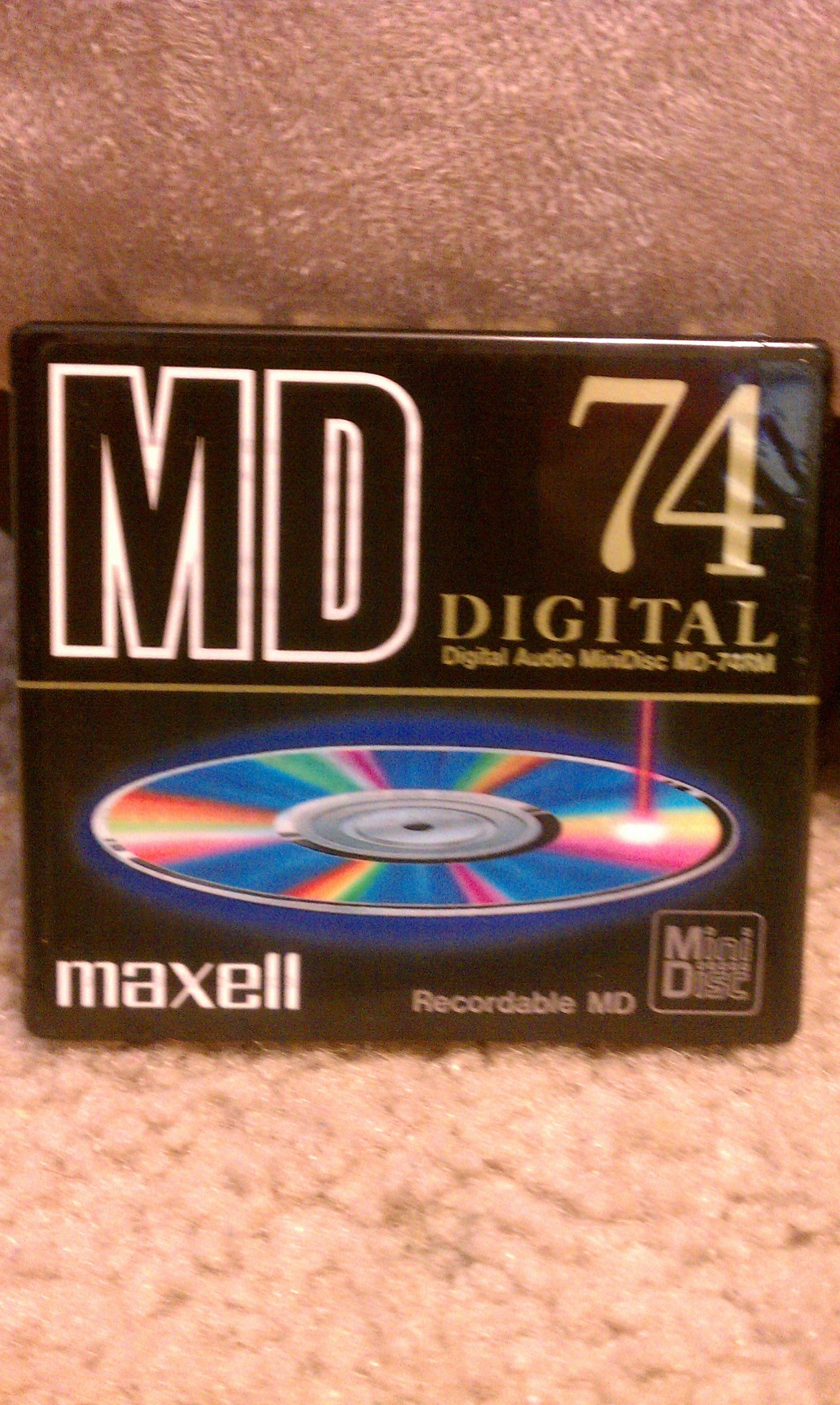 Maxell Digital Recordable Md 74