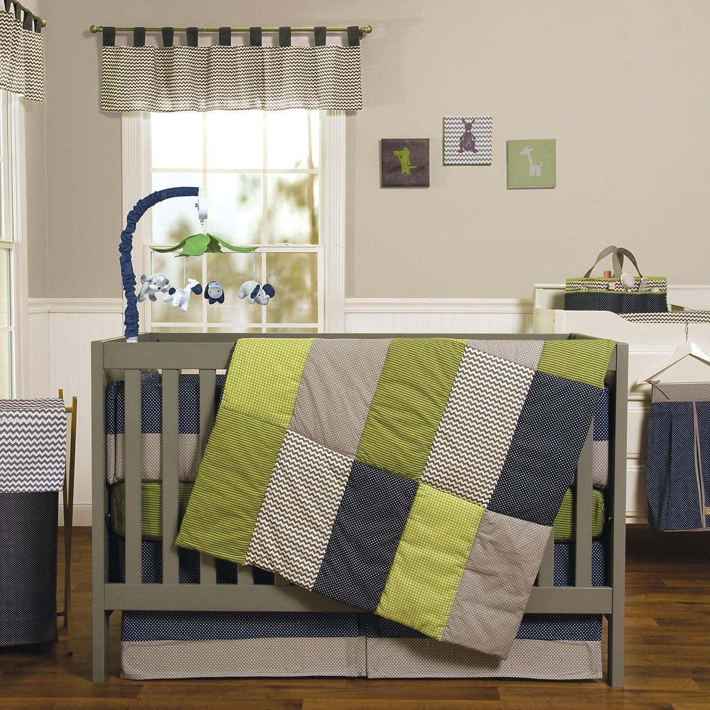 Trend Lab 3 Piece Crib Bedding Set, Perfectly Preppy by Trend Lab   B00EL3P93A
