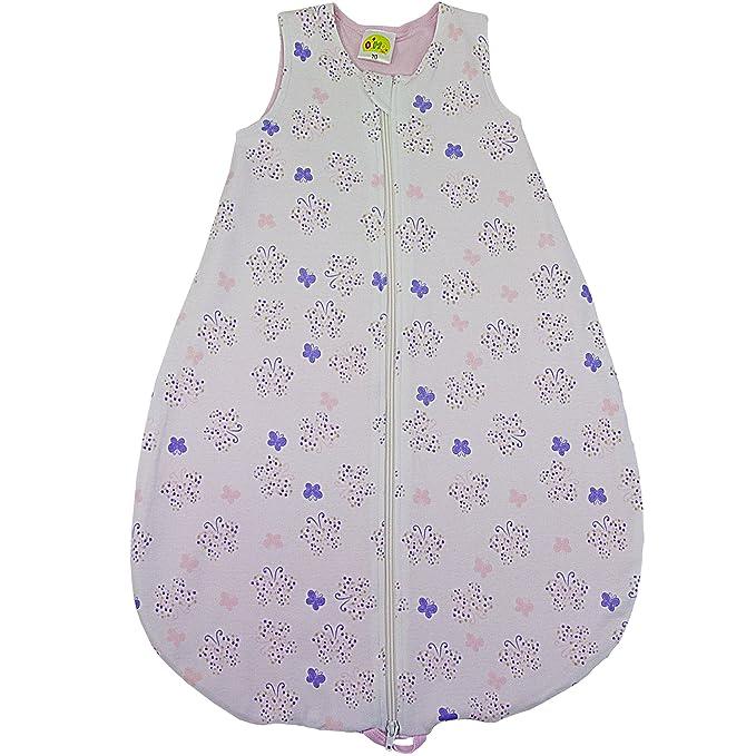 Dimo Tex - Saco de dormir - para bebé niña Flieder, Rosé, Lila 70: Amazon.es: Ropa y accesorios