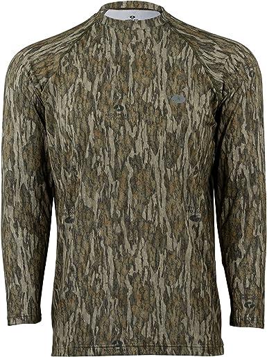 Mossy Oak camuflaje juventud rendimiento de manga larga para Tech Tee Camiseta de caza