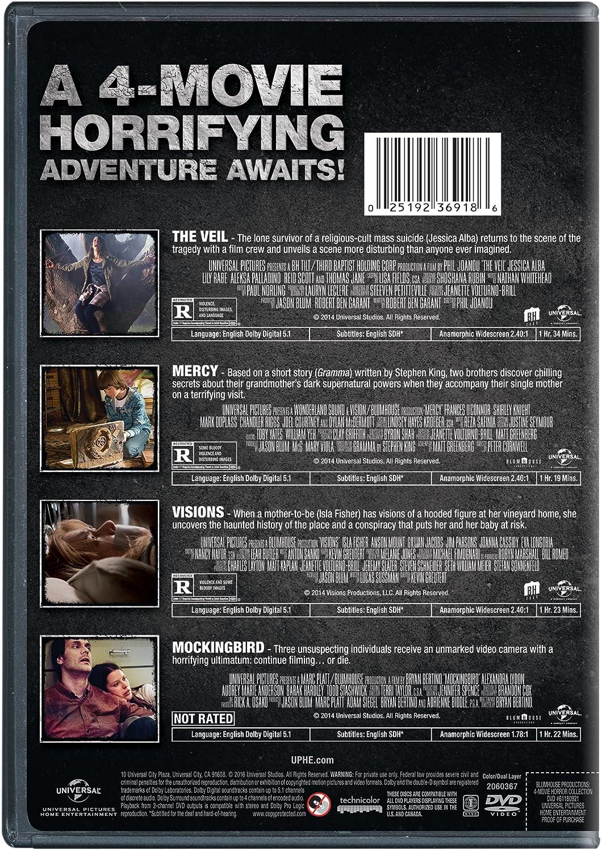 Amazon com: Blumhouse 4-Movie Horror Collection (The Veil