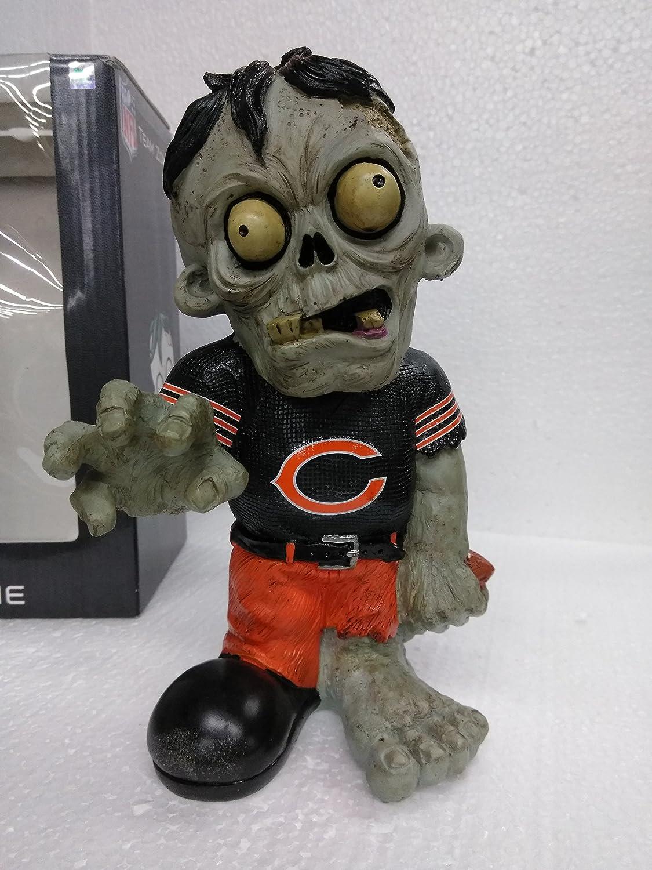 non-Bobble 8 inches Bobble Head Zombie Chicago Bears Forever Nightmare Heavy Resin//Ceramic Zombie
