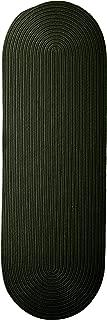 product image for Colonial Mills Boca Raton Runner Rug 2x11 Dark Green