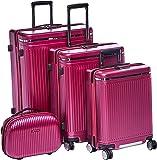 Magellan Trolly Luggage Set of 4 PCs 1648-4P-CHERRY