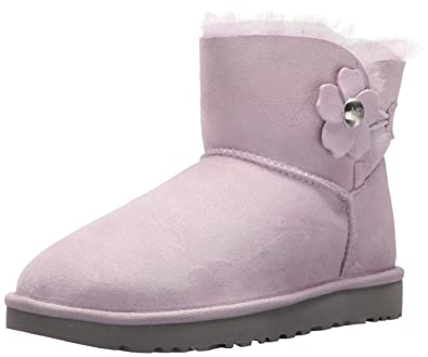 b75f9cf869c UGG Australia Women's Mini Bailey Button Poppy Snow Boots