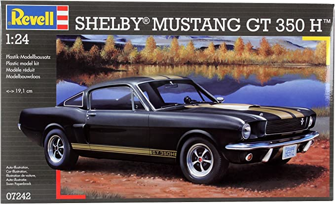 Revell Shelby Mustang GT 350 H Maquette de Voiture 7242