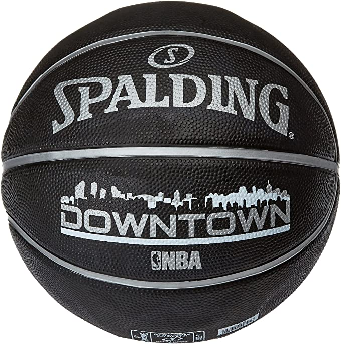 Spalding NBA Downtown Outdoor Sz.7 (83-205Z) Balón de Baloncesto ...