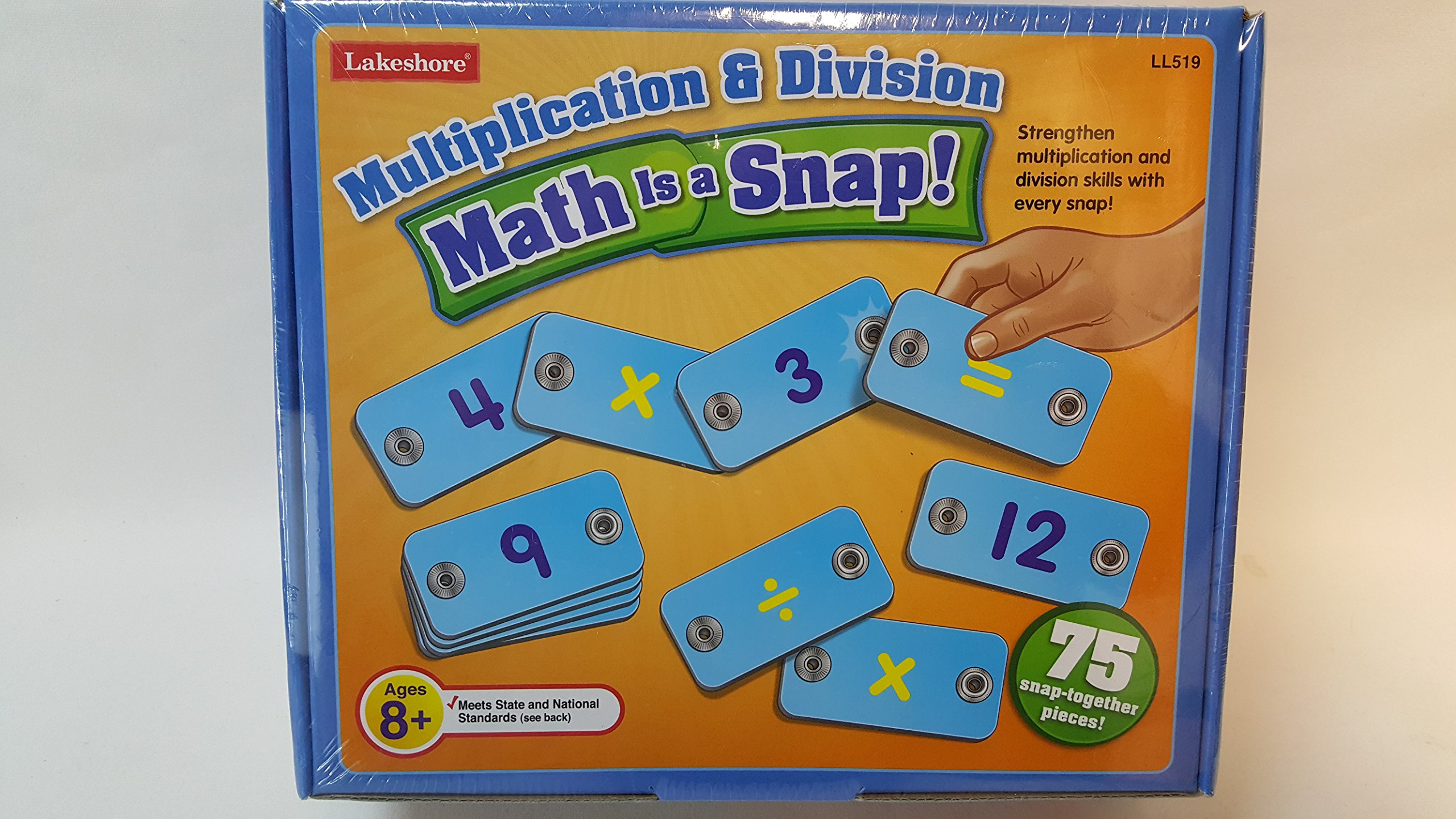 Math Is a Snap! Multiplication & Division $29.99 s by Lakeshore (Image #2)