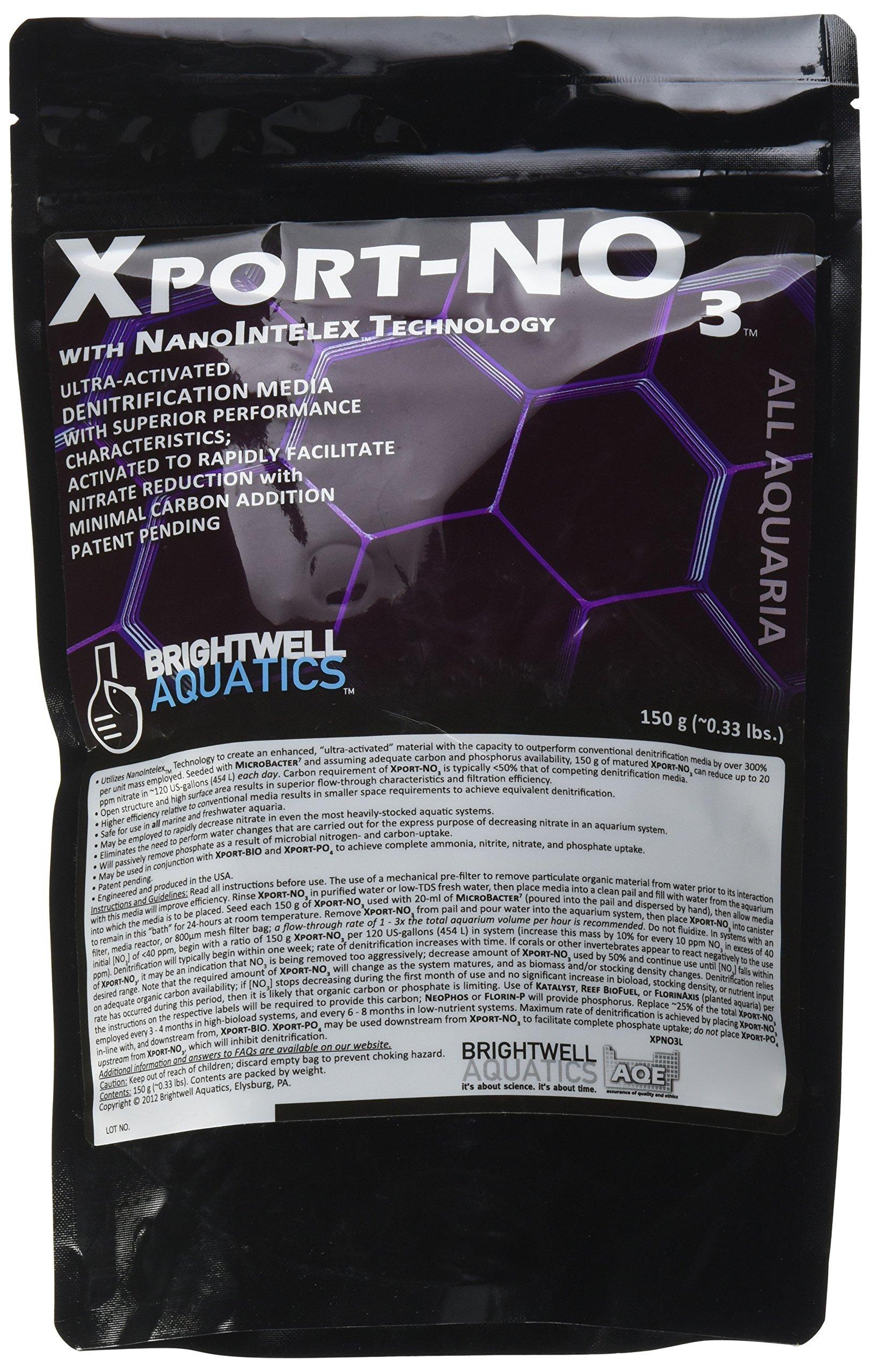Brightwell Aquatics ABAXPNOC3L Xport No.3 Filter Media for Aquarium, 150gm