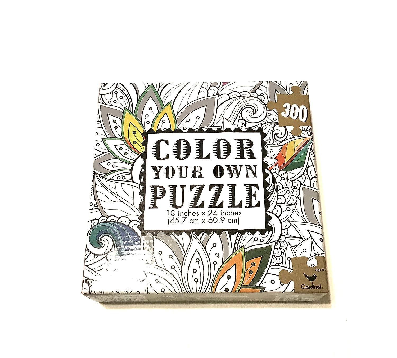 フローラルColor x24 Your Own Puzzle - 18