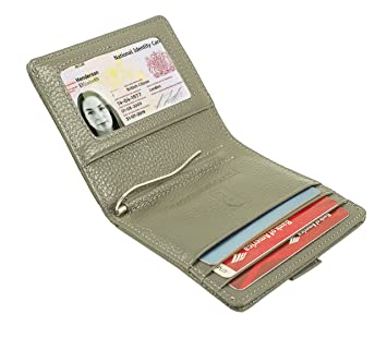 Organ-type aluminum multi-card ID card bank credit card package modern design