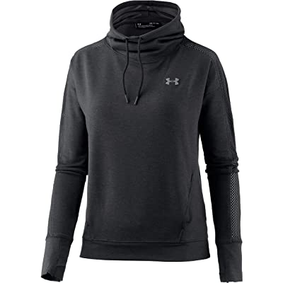 Under Armour Women's Featherweight Fleece Funnel Neck Sweatshirt: Under Armour: Clothing
