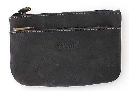 Euro Leather - Cartera para hombre gris