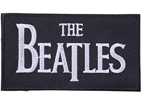 Parches the Beatles Parches bordados rock parches rock parches para ropa parches bordados parche Beatles 10 x 5cm: Amazon.es: Hogar