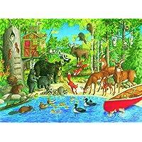 Ravensburger Woodland Friends Puzzle 200pc,Children's Puzzles