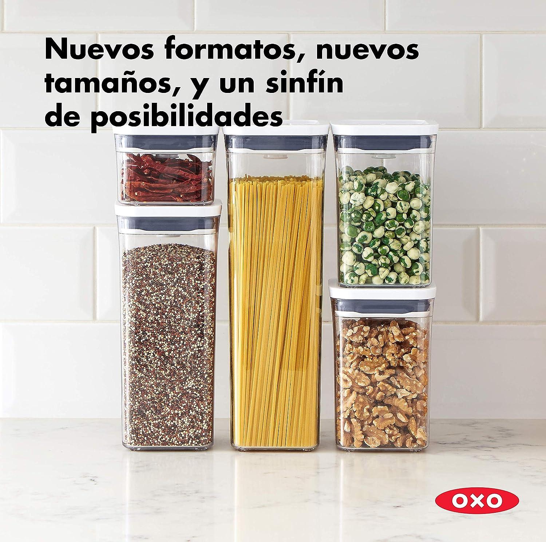 Almacenamiento herm/ético y apilable de alimentos OXO Good Grips POP Contenedor 5,7 l para alimentos para mascotas y mucho m/ás