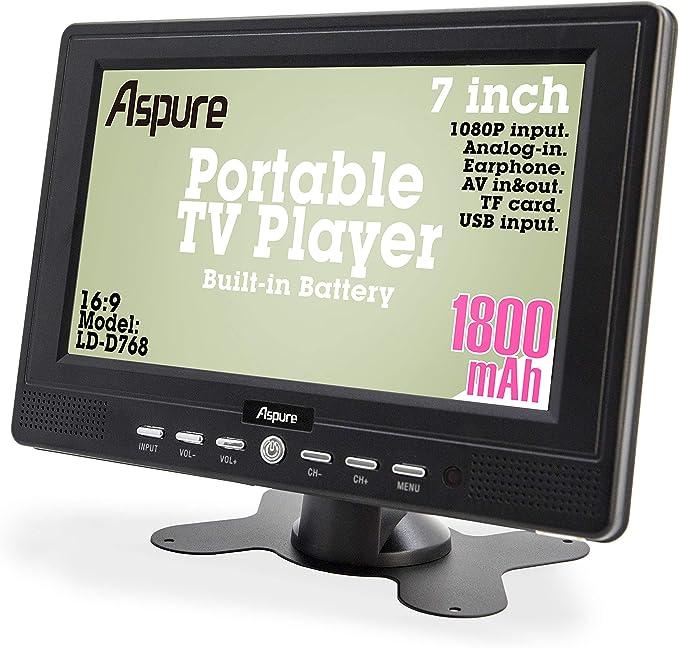 HD 7 Inch portátil pequeño LED TV Digital DVB-T para Coche ...