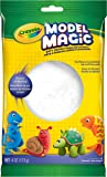 Crayola 57-4401 Model Magic, 4 Ounce No-Mess, Soft, Squishy, Lightweight Modeling Material For Kids, Easy to Paint and Decorate, Air Dries Smooth, White