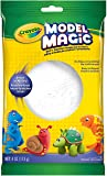 Crayola Model Magic White, Modeling Clay Alternative, At Home Crafts for Kids, 4 oz, Model Number: 57-4401