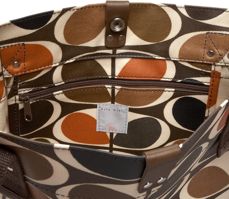 Amazon.com: Orla Kiely mediano bolsa, Anaranjado, talla ...