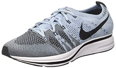 check out 49a5e 5f81a Nike Mens Flyknit Trainer Cirrus Blue Black Flyknit Size 10.5