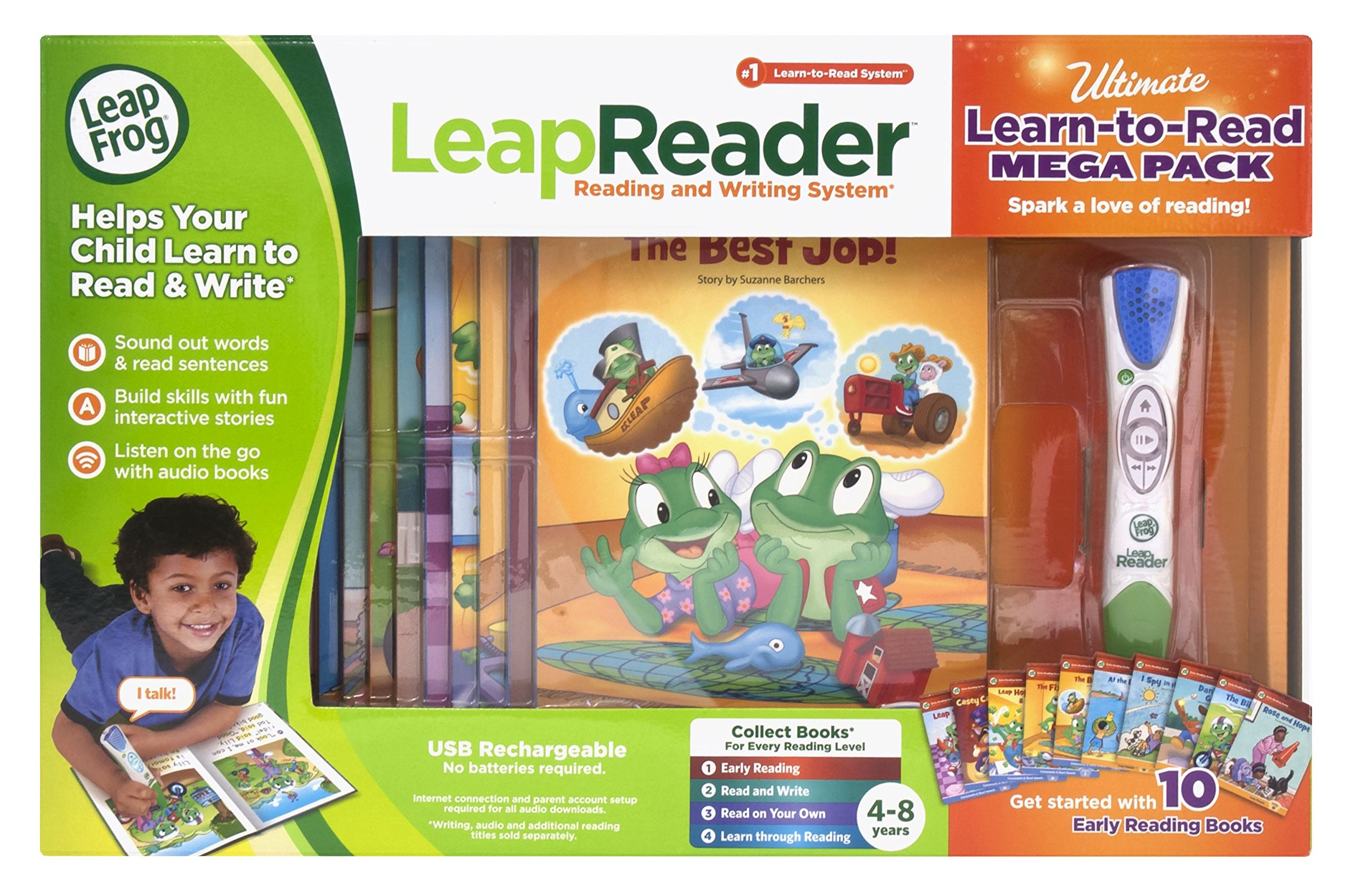 LeapFrog LeapReader System Learn to Read 10 Book Bundle by LeapFrog (Image #2)