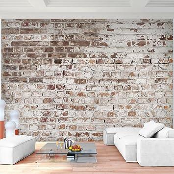 Fototapete Steinwand 396 x 280 cm Vlies Wand Tapete Wohnzimmer ...