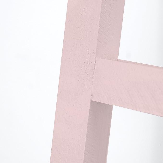 Decowood Handmade Accessory Escalera, Madera, Rosa, 41x150x4 cm: Amazon.es: Hogar