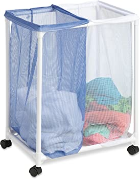 Honey-Can-Do HMP-01628 2 Bag mesh Laundry sorter